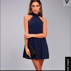 Lulus blue dress. New condition!